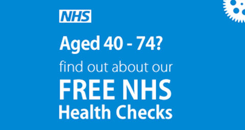 Aged 40-74. Find out about our free NHS health checks